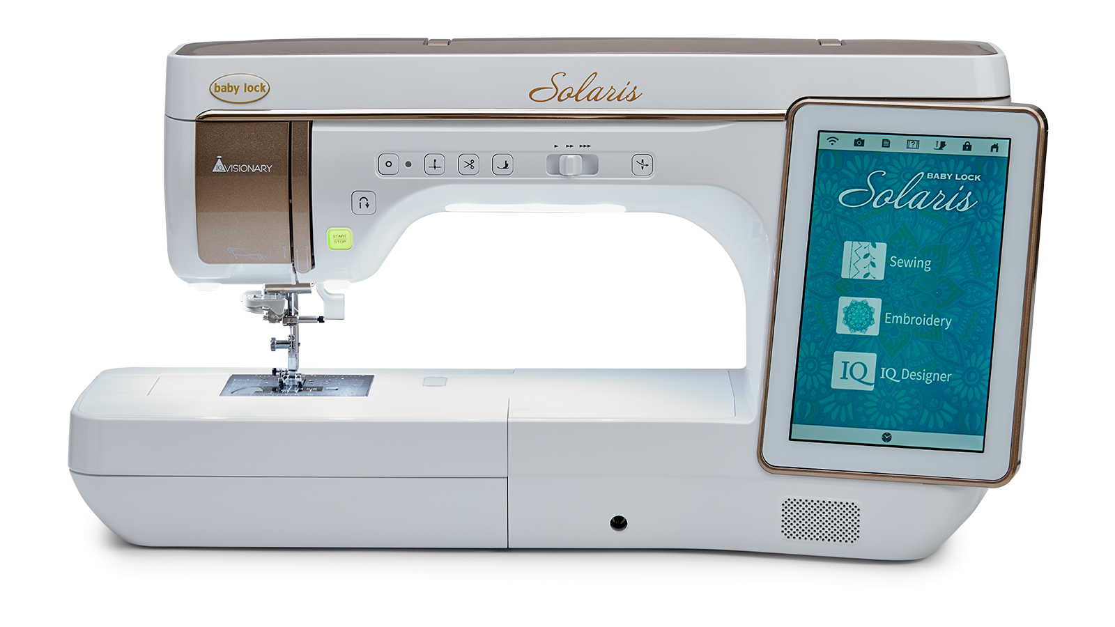 Solaris Embroidery and Sewing Machine