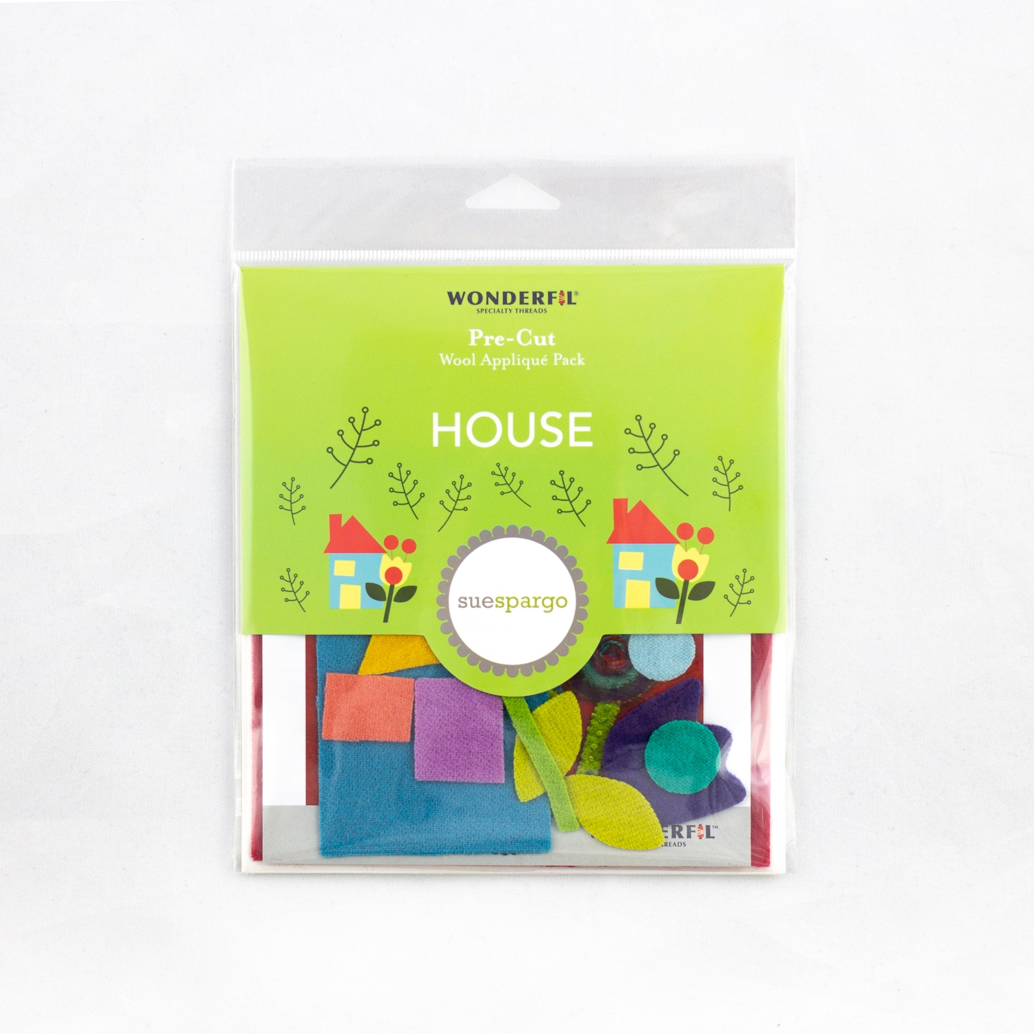 Sue Spargo Pre-Cut Wool Pack - House Colorway 2