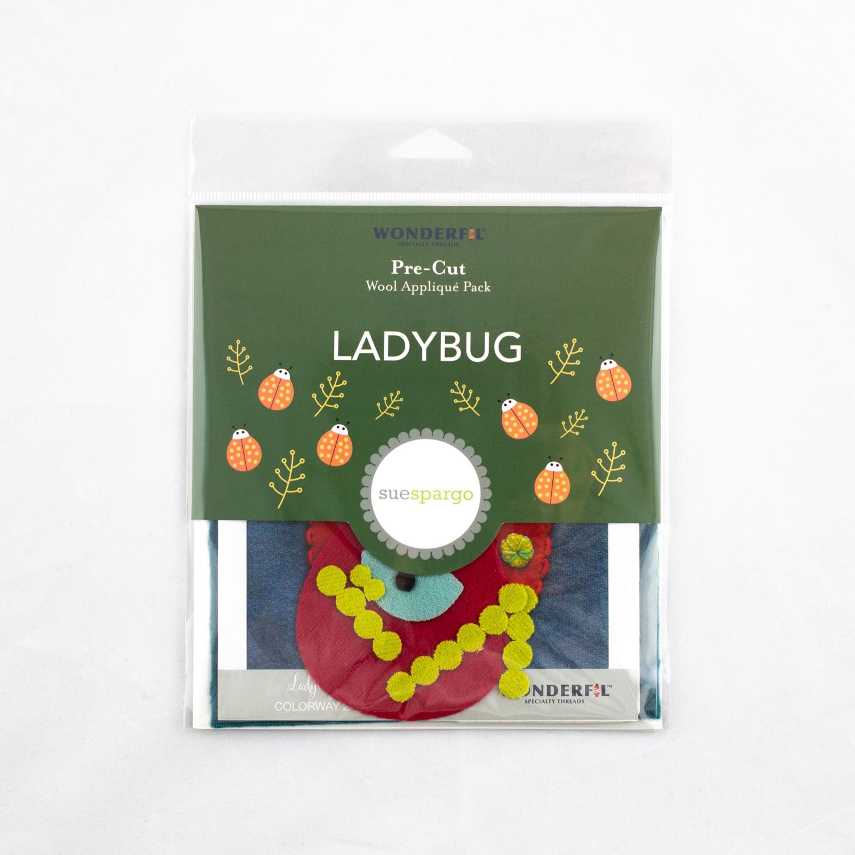 Sue Spargo Pre-Cut Wool Pack - Ladybug Colorway 2