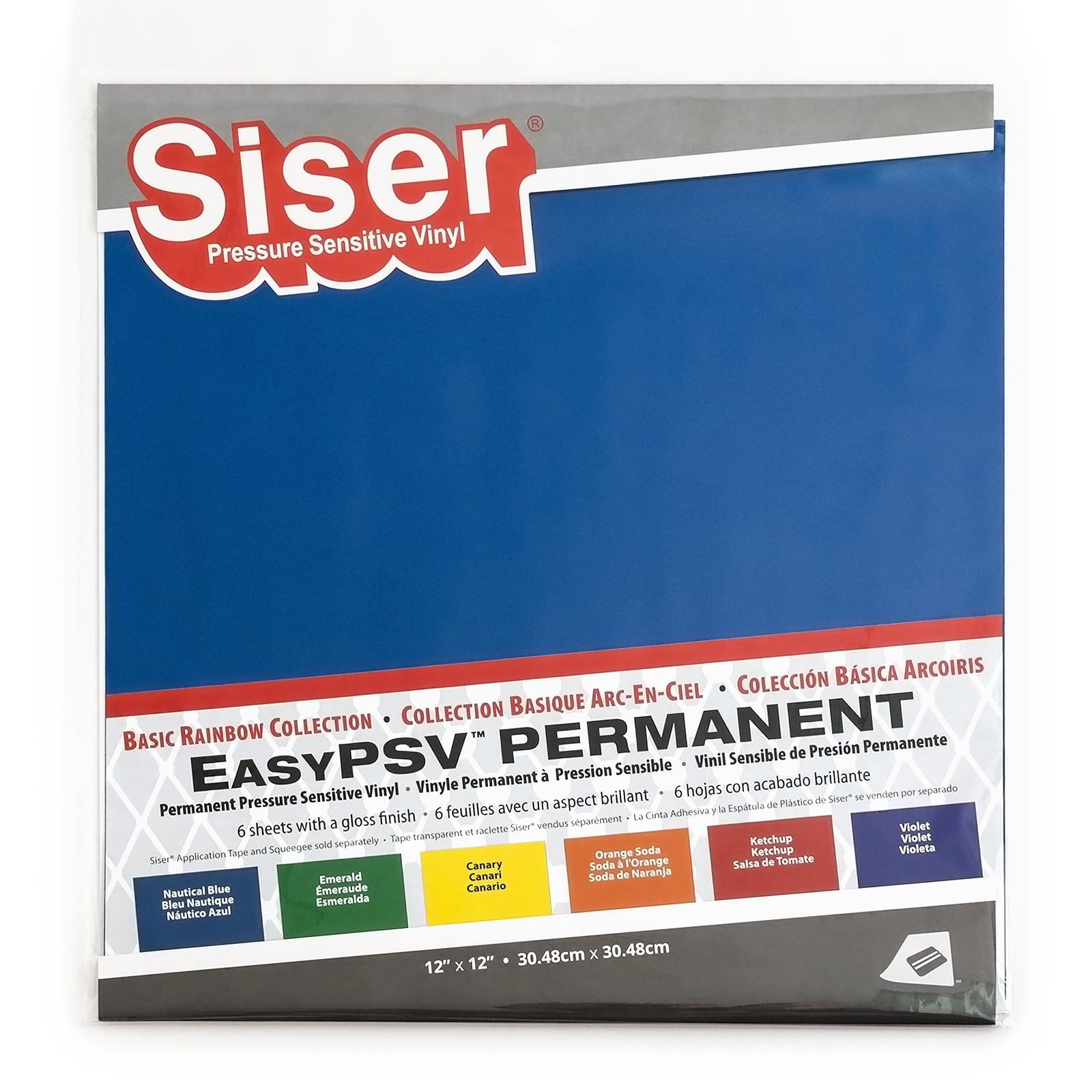 Siser EasyPSV Permanent 6 Pack - Basics