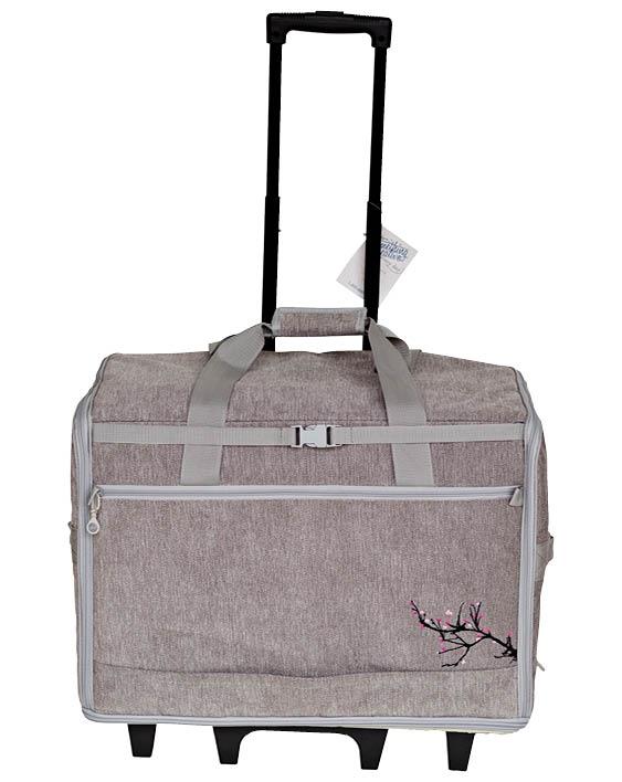 Songbird - Blue Fig 23 Wheeled Bag - Grey