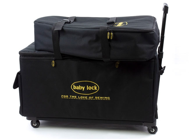 BABY LOCK EXTRA LARGE TROLLEY SET - BLACK