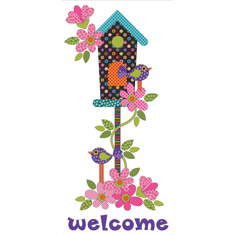 Welcome Home Dotz-Applique Pieces 13.75 x 29.75 Elementz