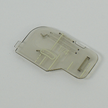 Bobbin Cover Plate With Mark - XF0750101
