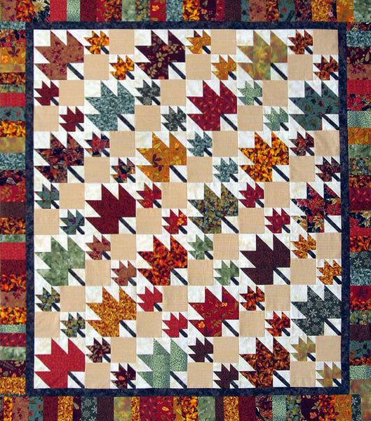 Thangles Autumn Leaves Quilt