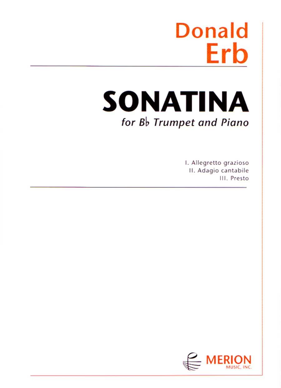 SONATINA WITH PIANO ACCOMPANIMENT ERB (14440453 ) (Trumpet Solos )