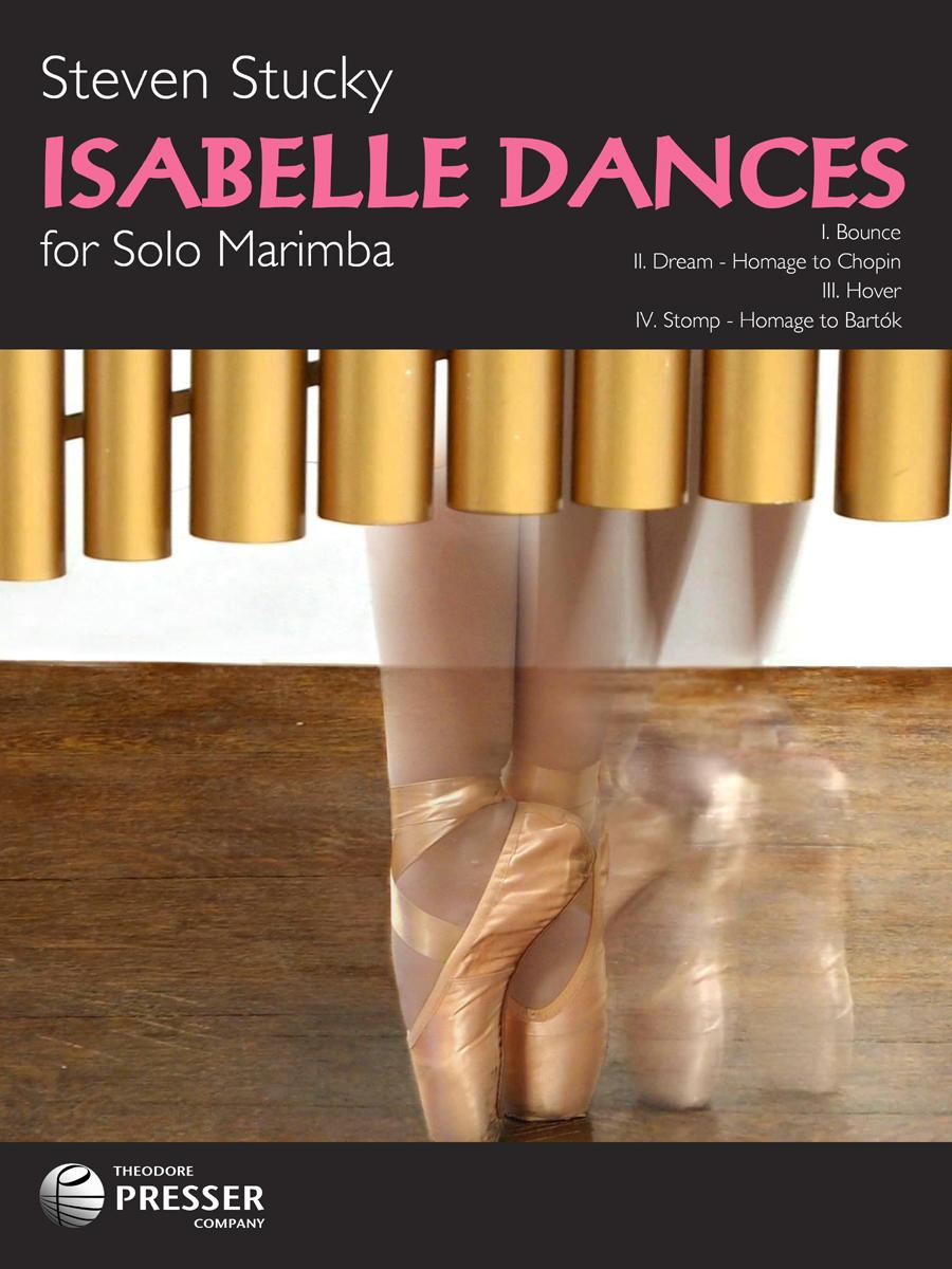 ISABELLE DANCES SOLO MARIMBA STUCKY (14440552 ) (Marimba )
