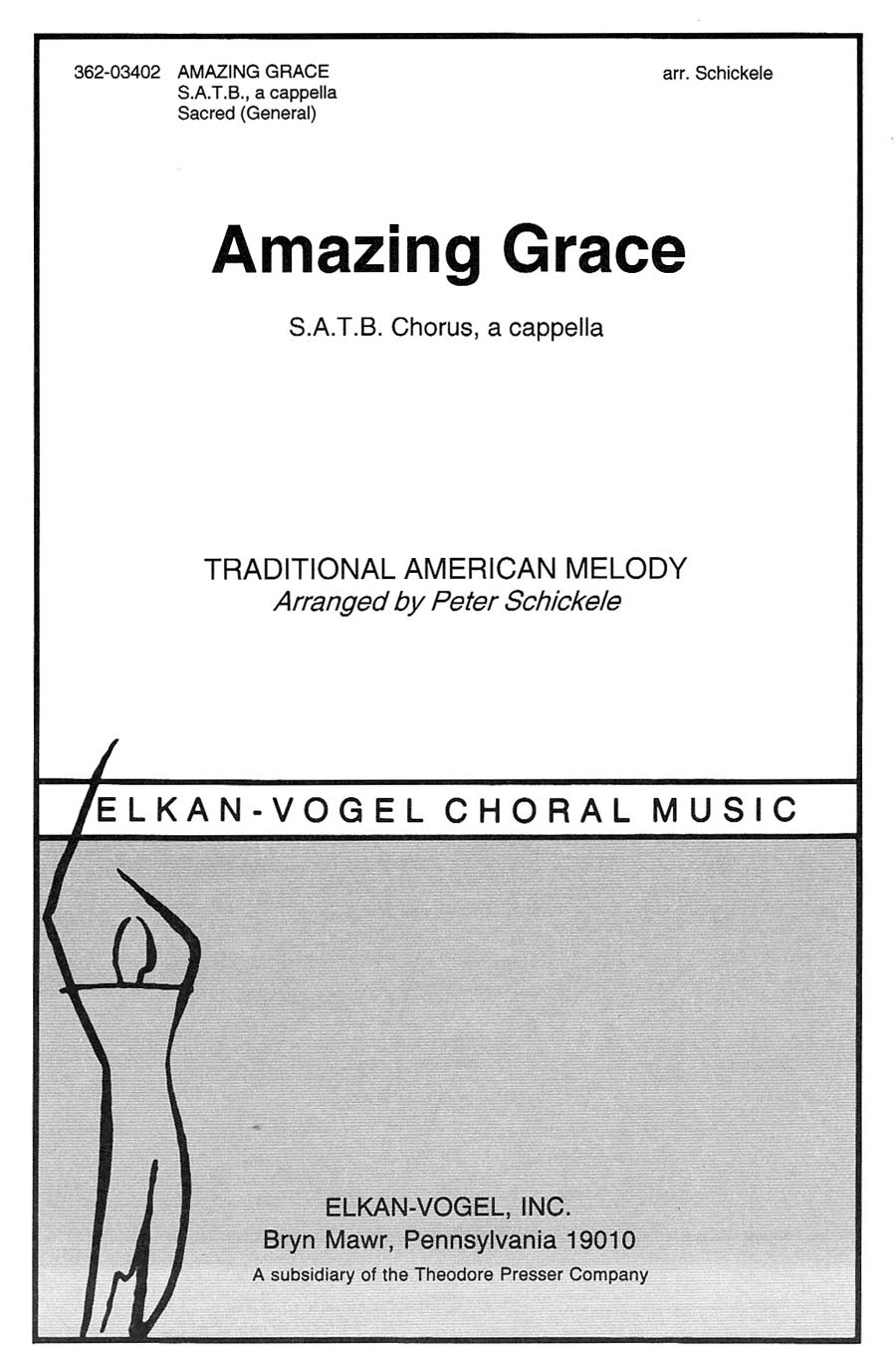 Amazing Grace | arr. Peter Schickele
