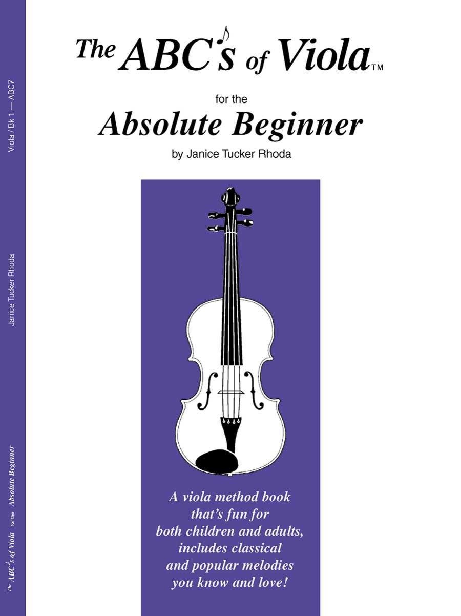 ABCS OF VIOLA 1 ABSOLUTE BEGINNER RHODA MP3 ONLNE (ABC7X ) (Viola Methods )