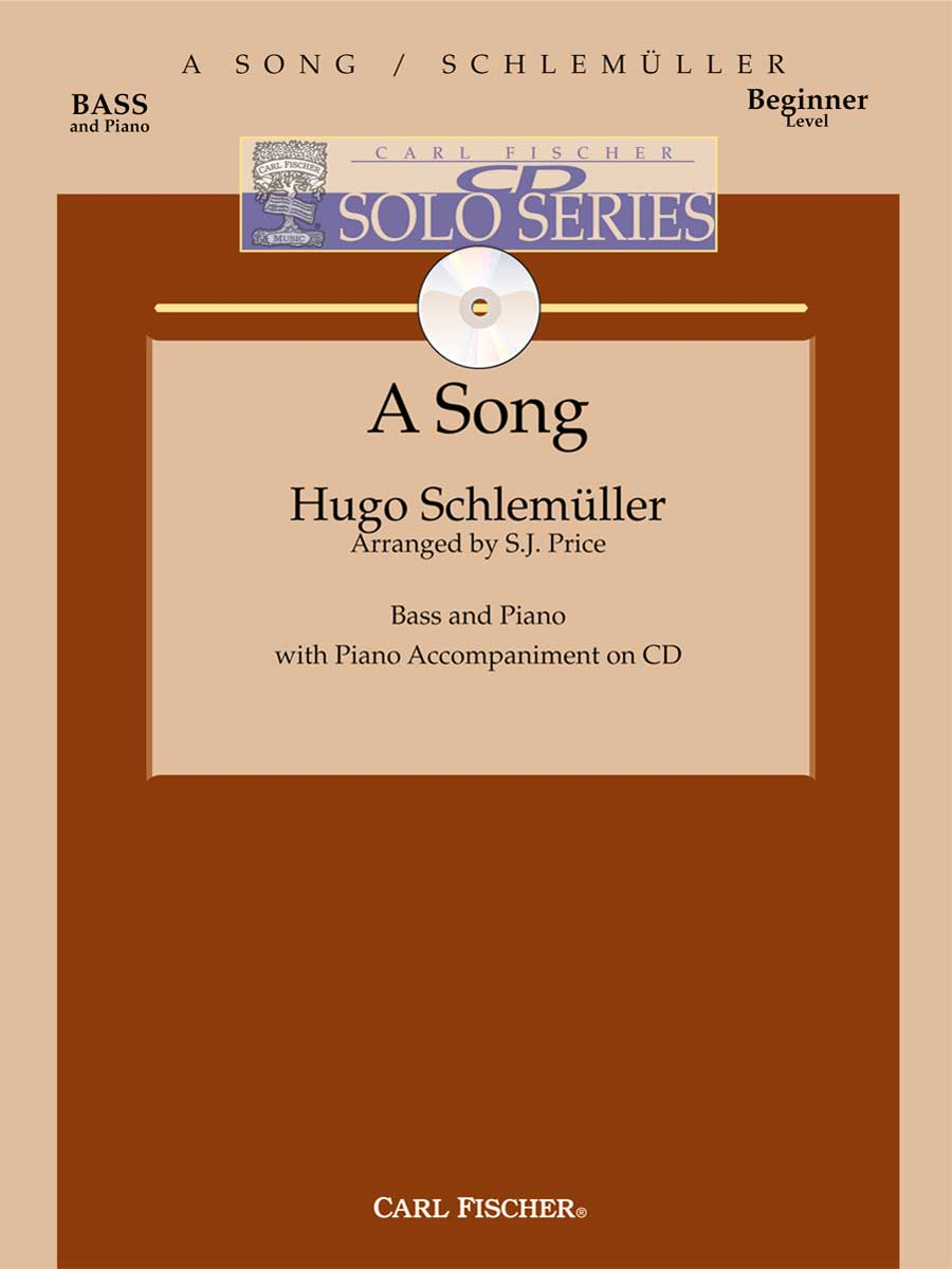 SONG WITH PIANO ACCOMPANIMENT SCHLEMULLER PRICE IACD