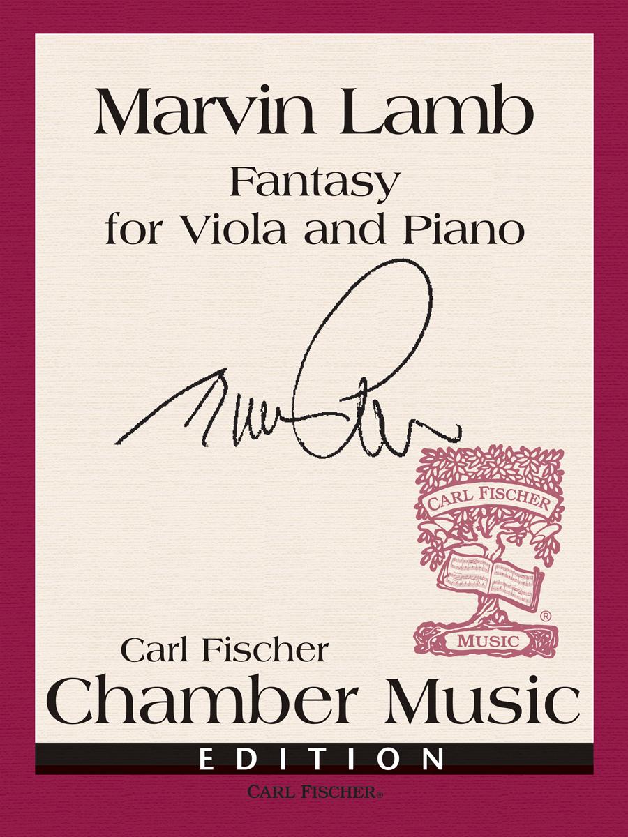 FANTASY WITH PIANO ACCOMPANIMENT LAMB (B3451 ) (Viola Solos )