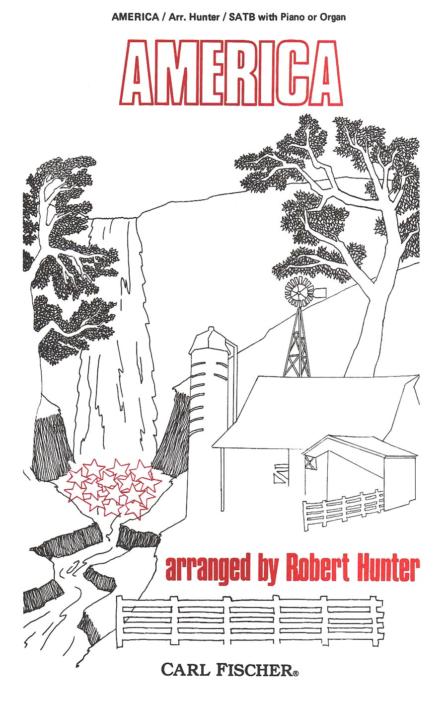 America | arr. Robert Hunter