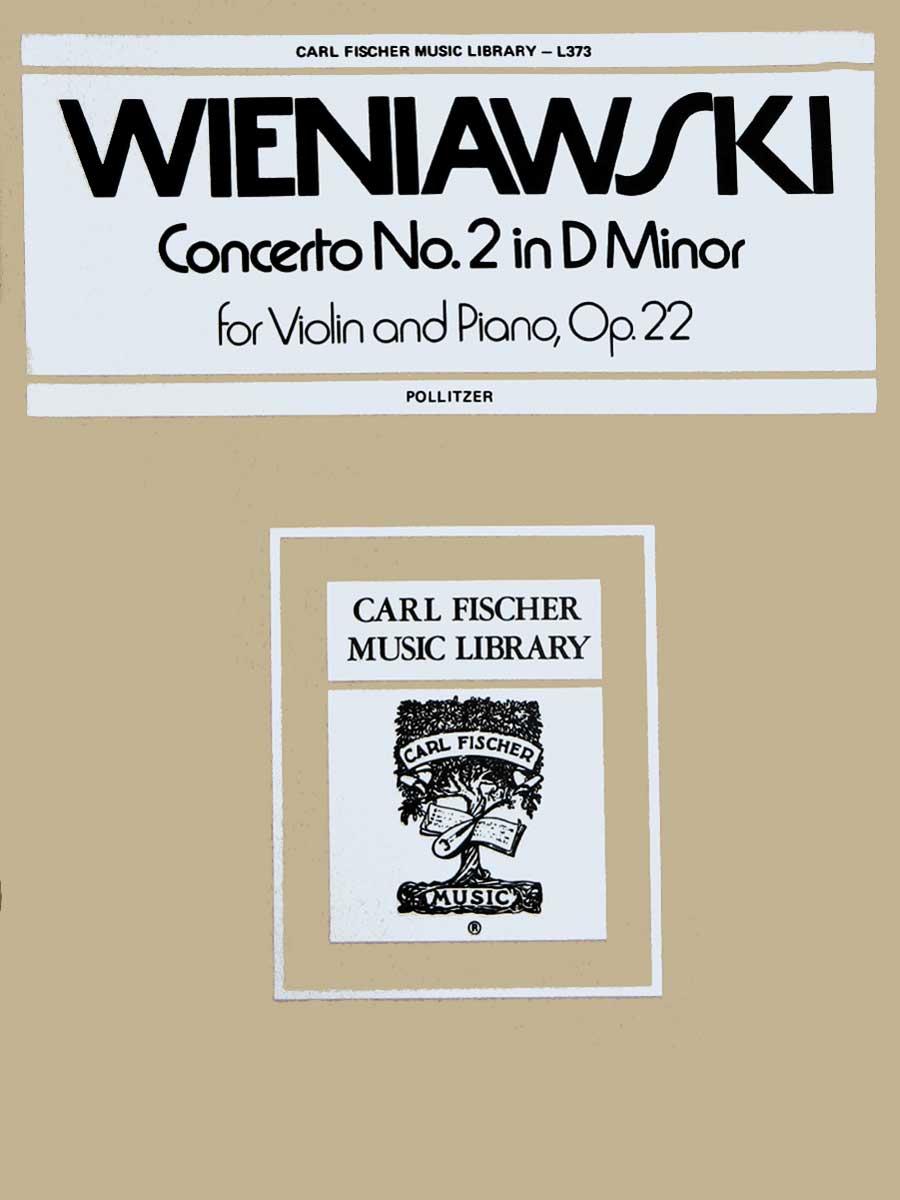 Wieniawski: Concerto no. 2 In D Minor, Op. 22 (Fischer)
