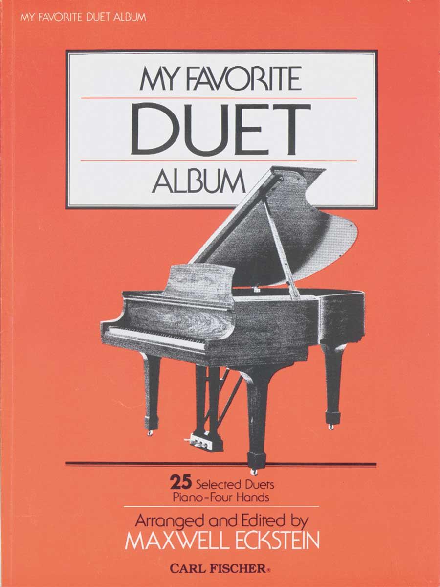 MY FAVORITE DUET ALBUM ECKSTEIN (O3253 ) (Piano Duet Books )