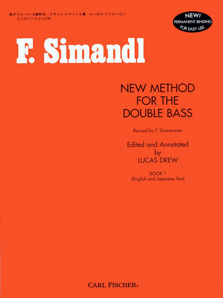 F. Simandl New Method For Double Bass Book 1