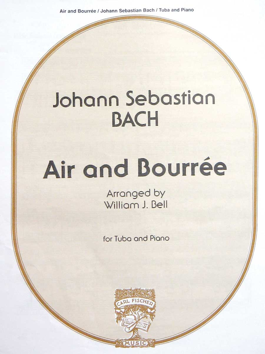 AIR & BOURREE BACH BELL STATE ST00
