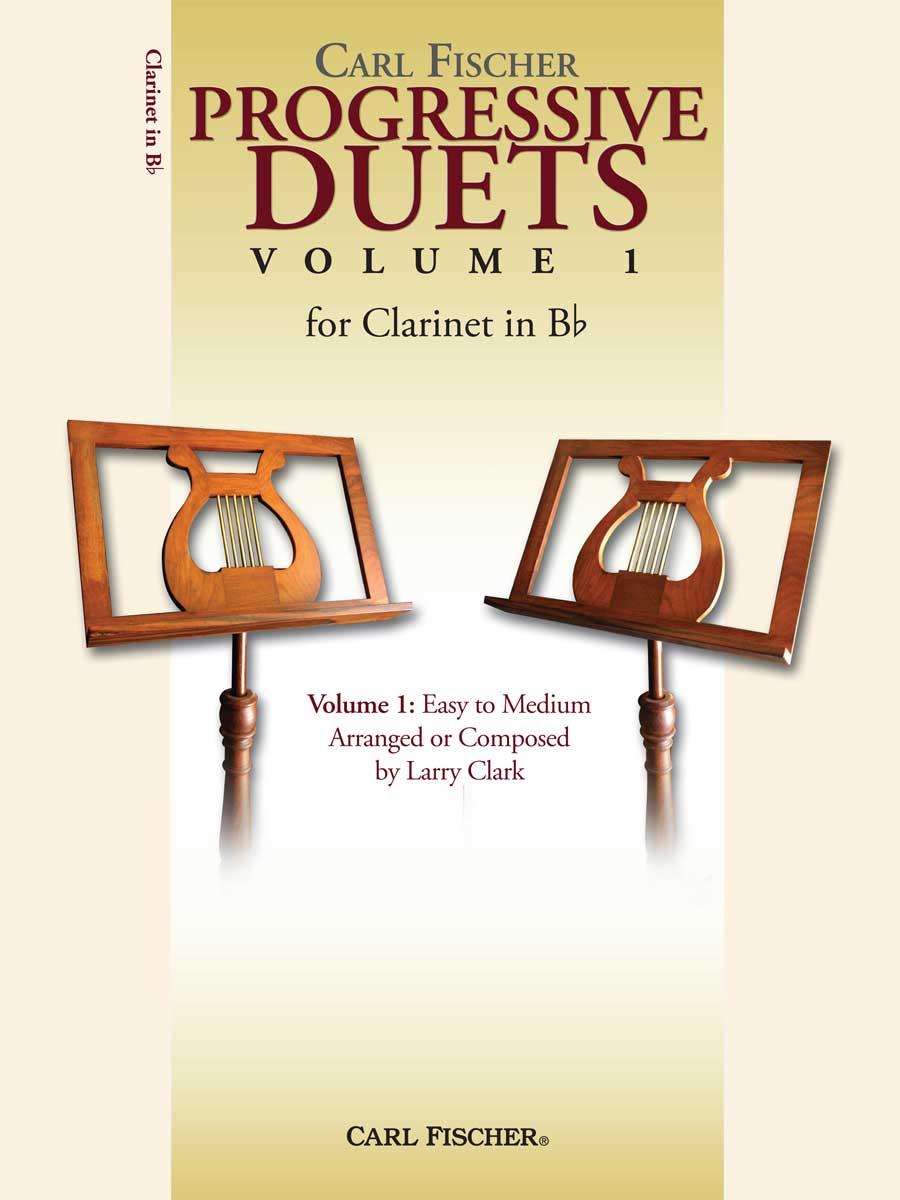 PROGRESSIVE DUETS FOR CLARINET 1 EASY TO MEDIUM CLARK
