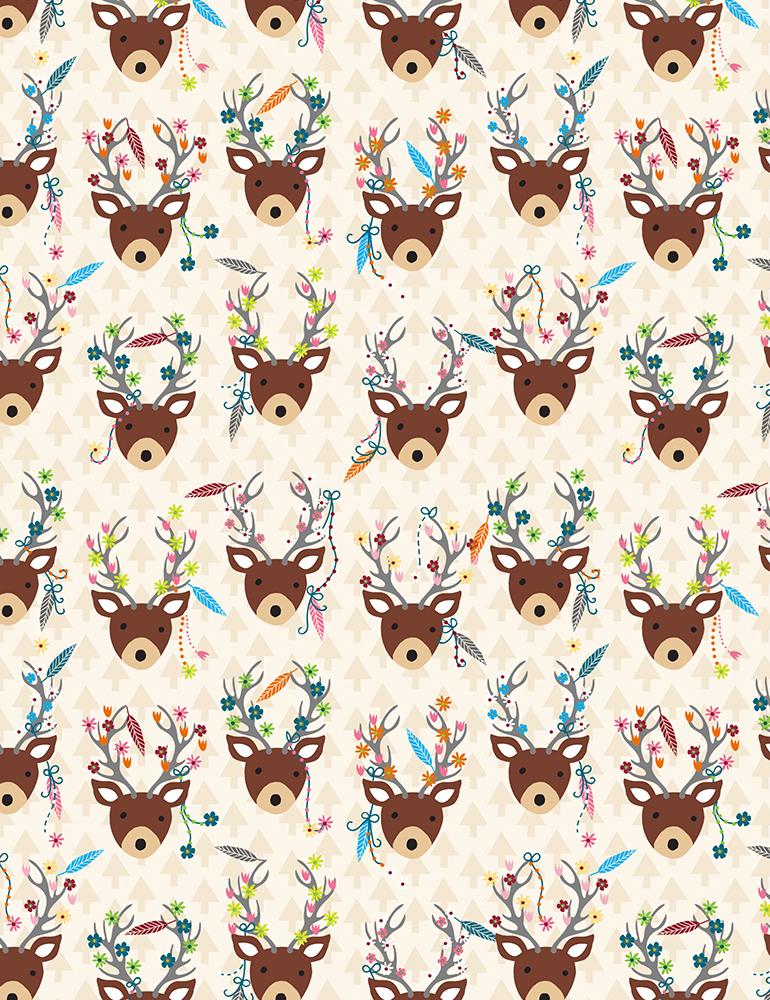 Decorated Deer C6788
