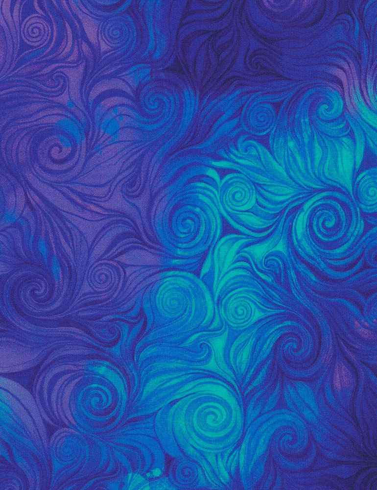 Swirls Awaken CD6554 Blue