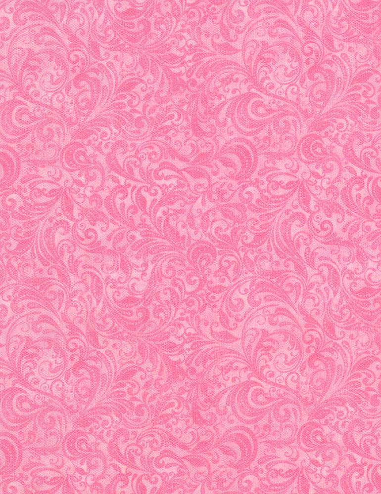 Timeless Treasures   Belle Delicate Filigree: Pink