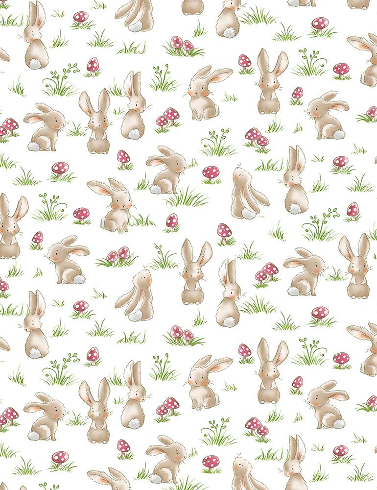 BUNNIES Curious Bunnies 6716 GRASS