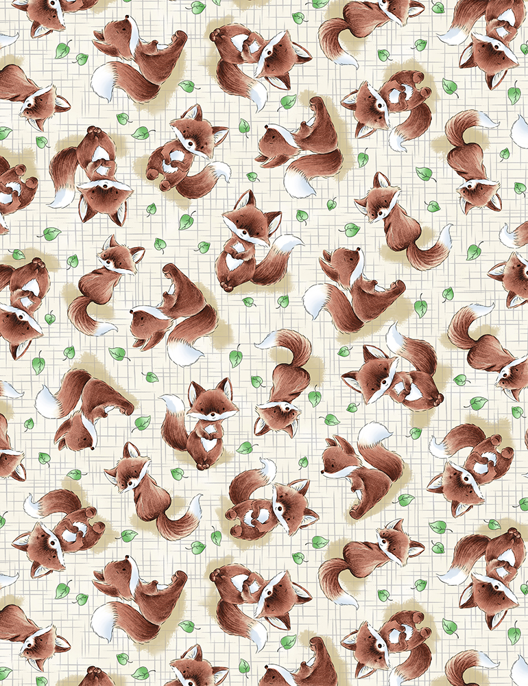 BUNNIES Foxes 6722 TAUPE