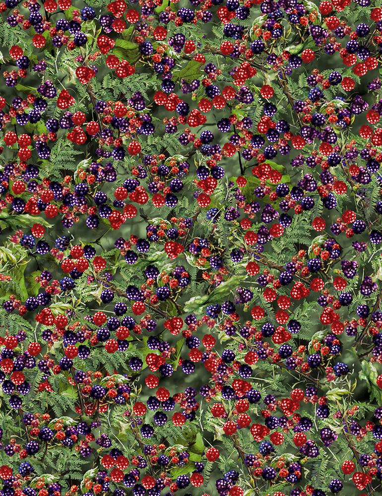 Berries & Bushes Fabric