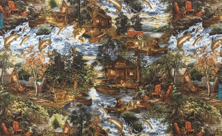 Fishing Trip Flannel