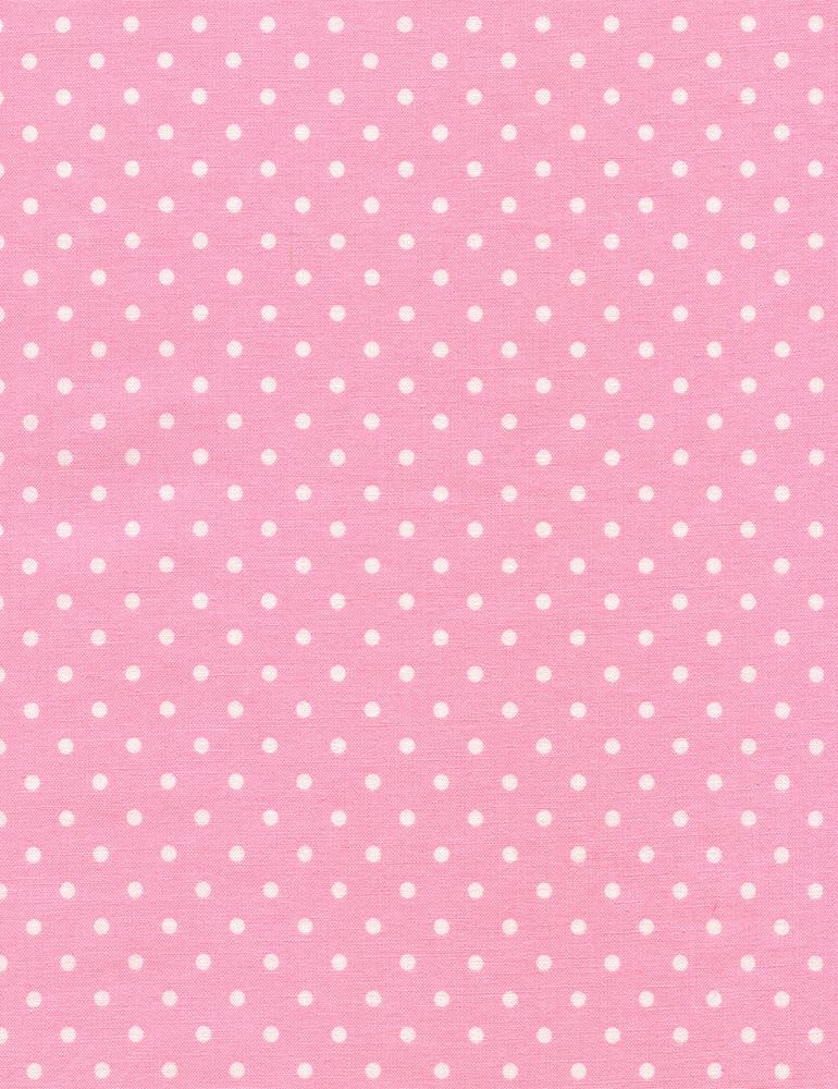 Kimberbell Large Dot Fabric: Pink