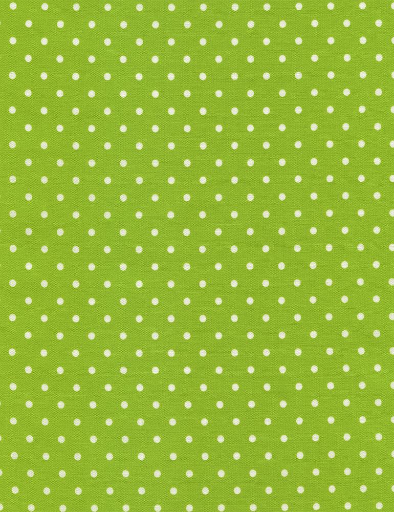 Irregular Dot by Susybee  Dark Lime 845