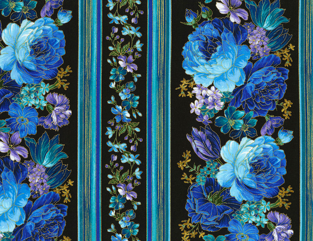 Enchant Flower Border Print