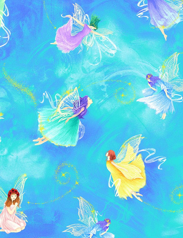 Fantasy Fairies Aqua