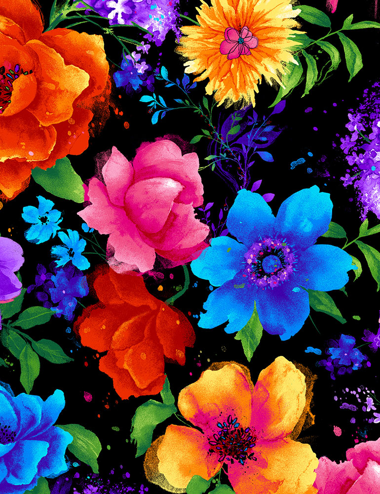 Night Bloom Large Florals