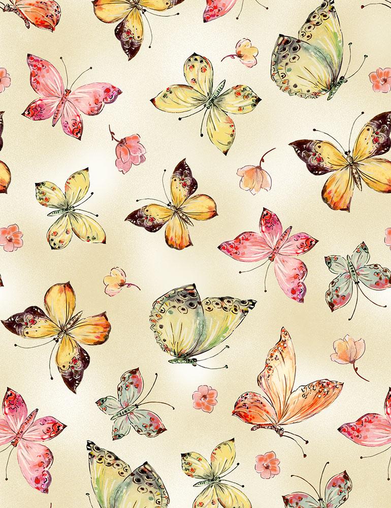 CD7190 Allover Butterflies (20B)