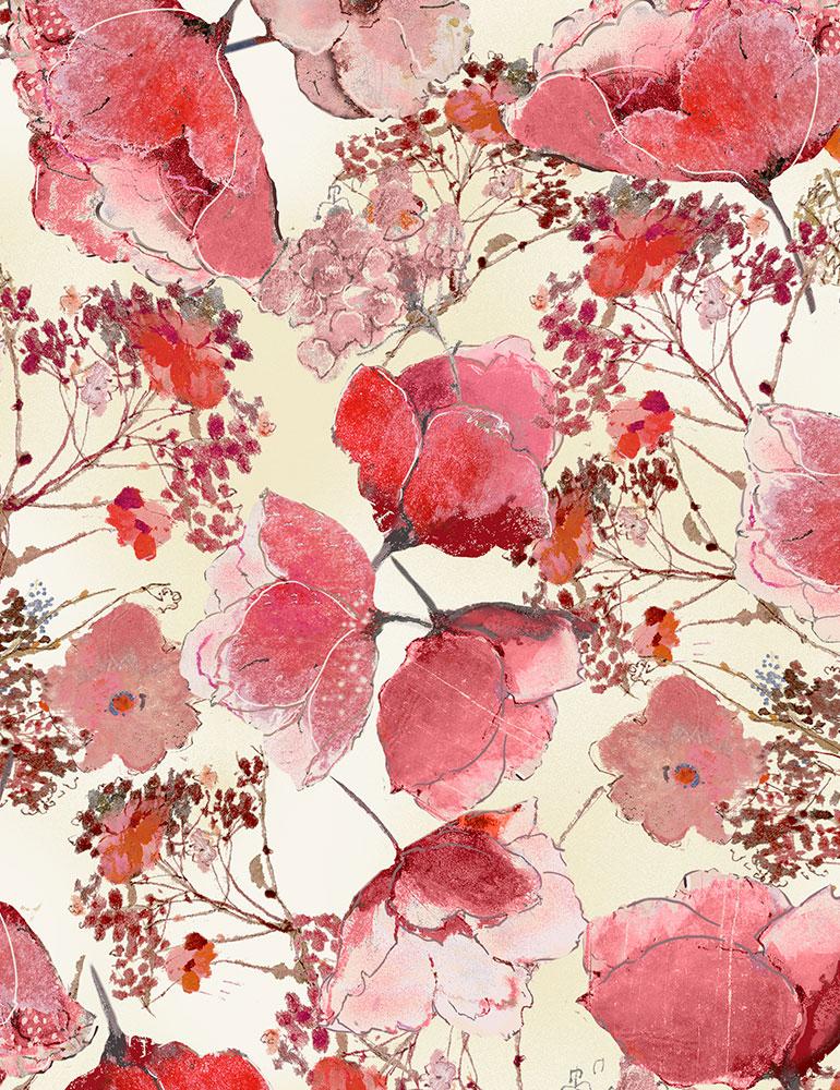 CD7194 Delicate Flower Blooms (20B)