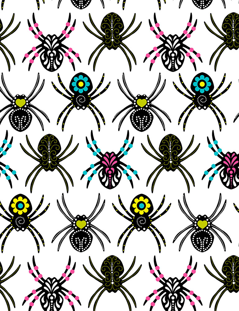 c7793 Sugar Skull Spiders  (20B)