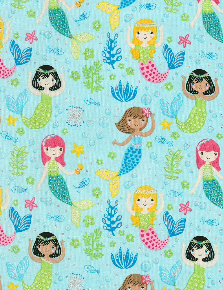CM6613-Aqua  Mermaids (20B)