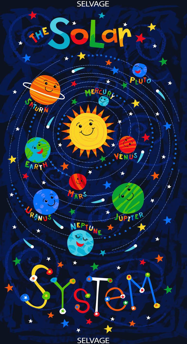 #38 Solar System Panel 6606 BLUE