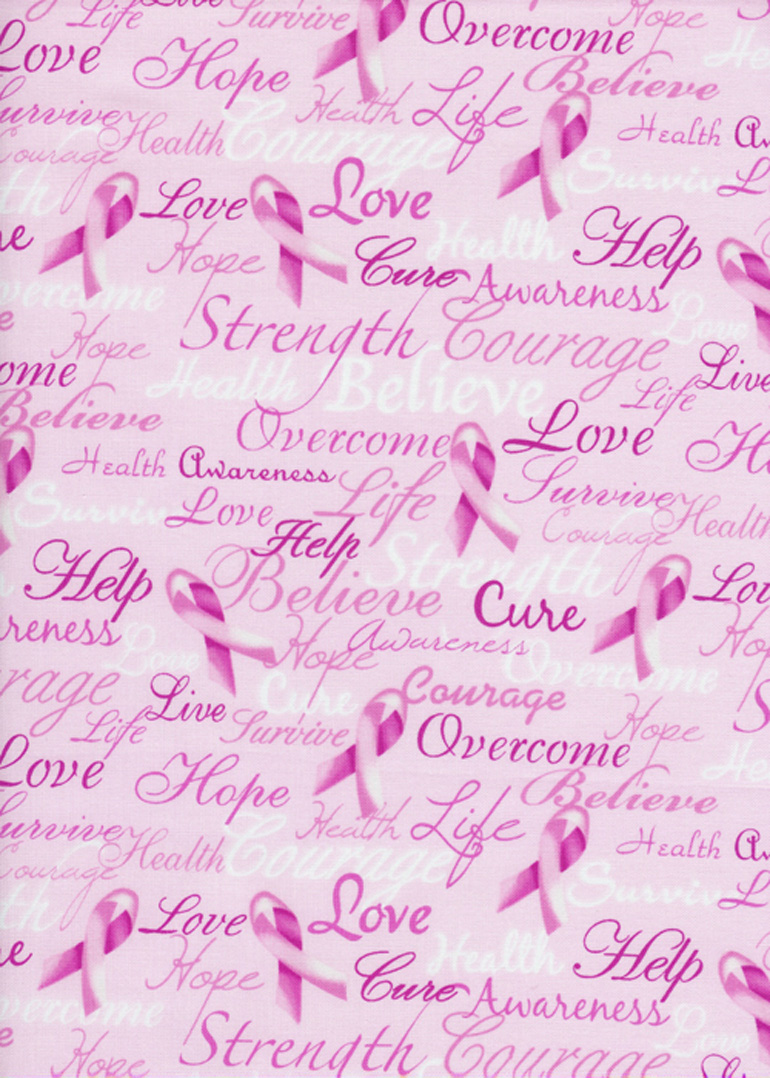 TT - Novelty - Pink Breast Cancer Ribbons