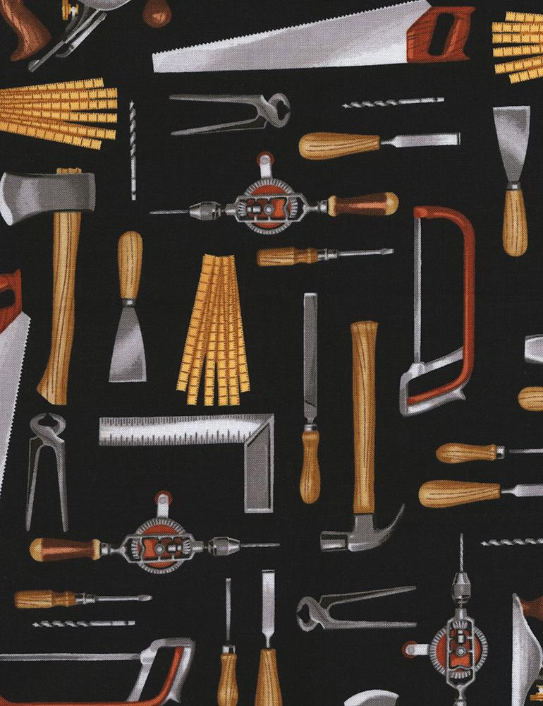 Tools on Black