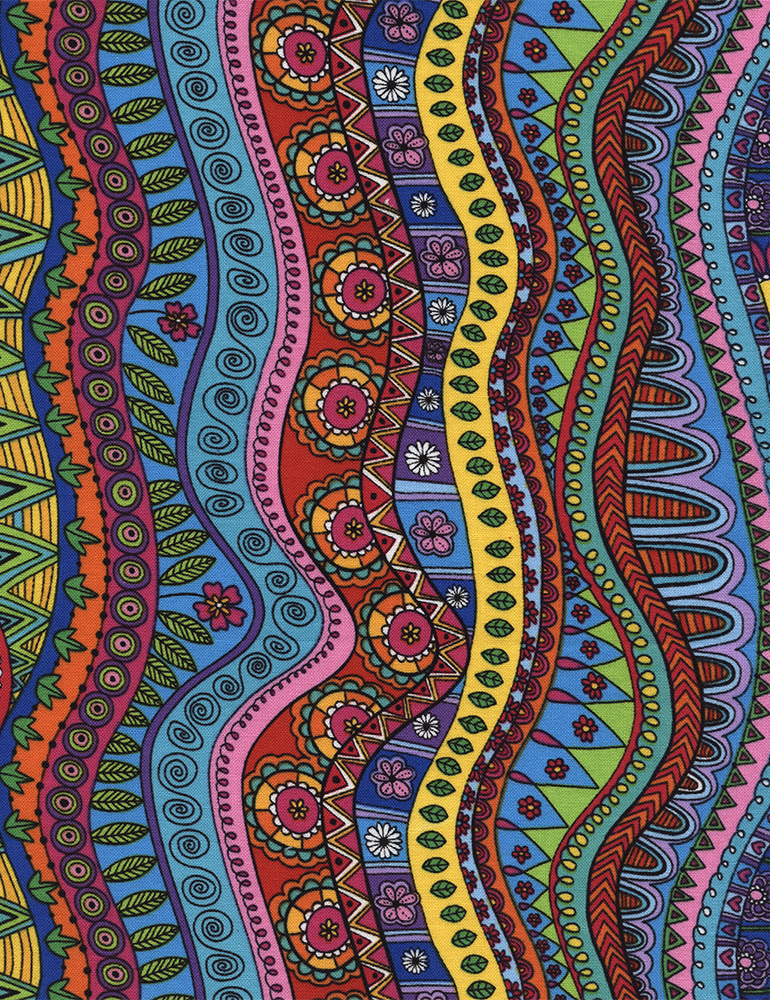 Doodle Stripe Coloring