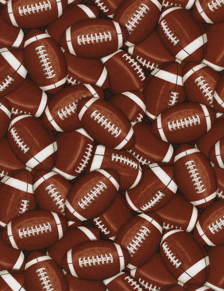 Packed Footballs