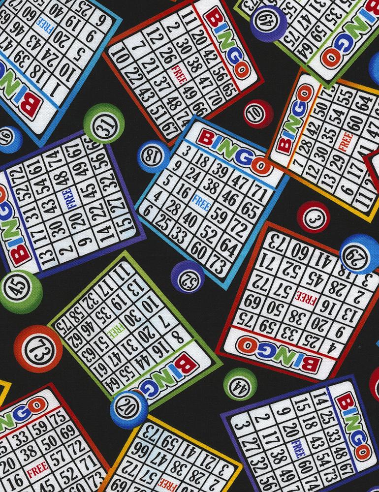 Fabric - Bingo - C5200