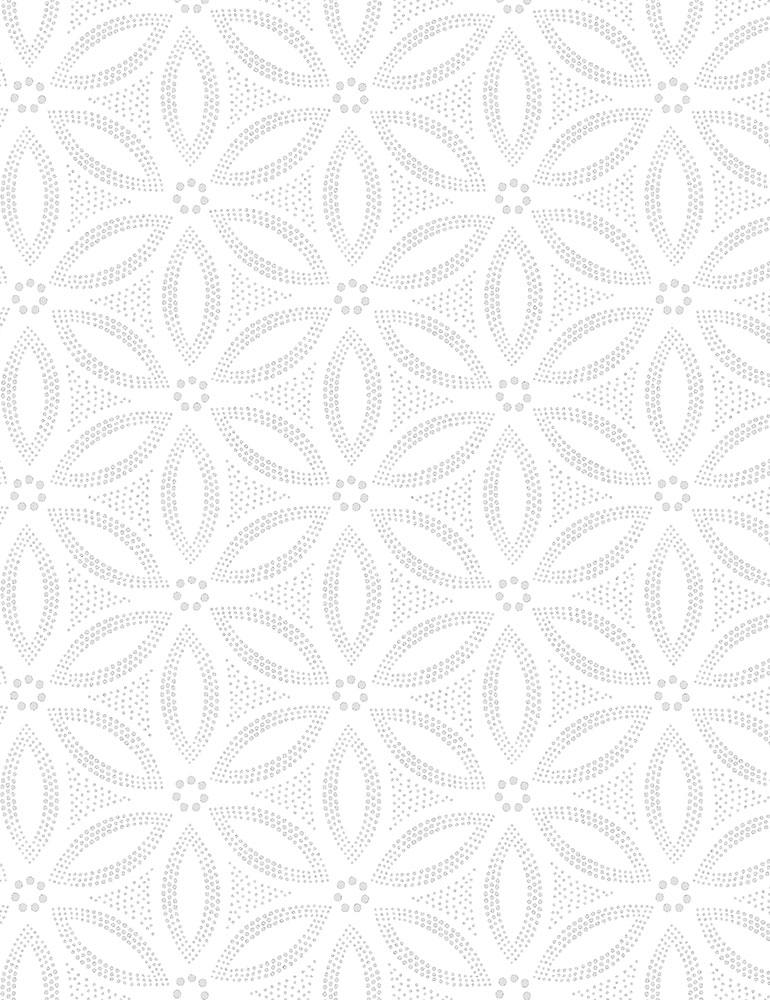 Sand Dollar Hue-C7101-White Timeless Treasures