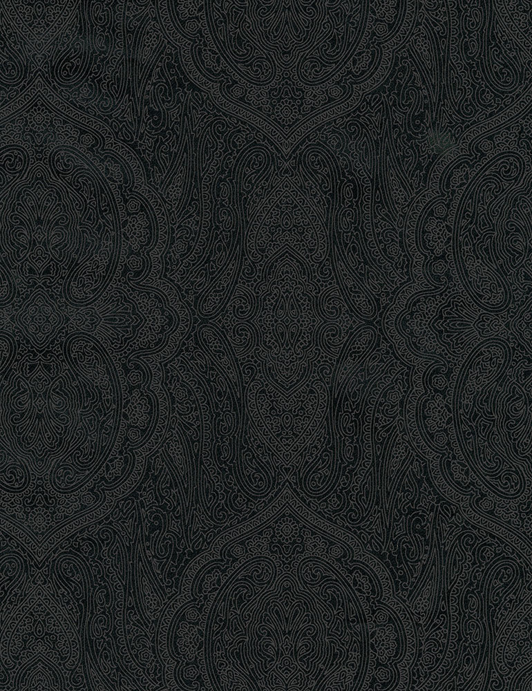 Hue C7111 Paisley Black
