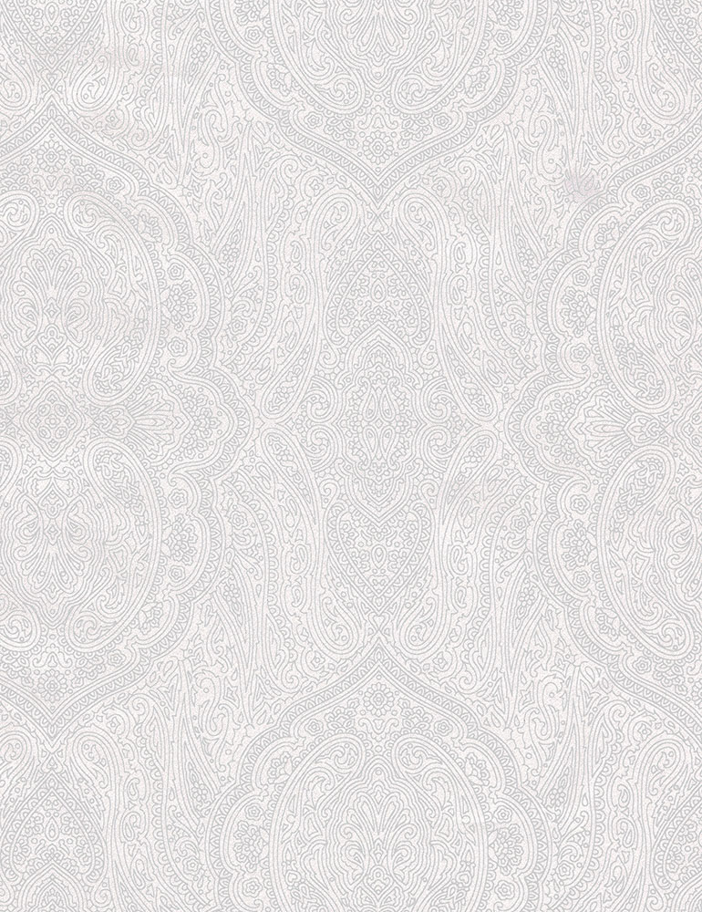 TT- White On White Paisley