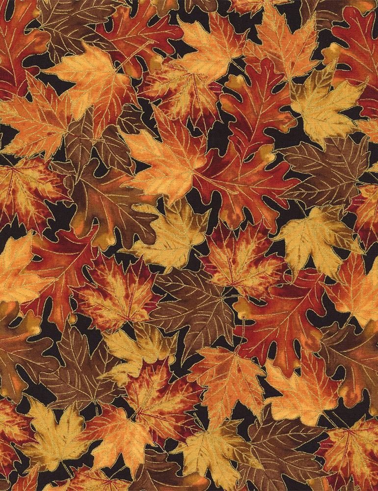 Harvest Leaves Metallic HARVEST-CM2092