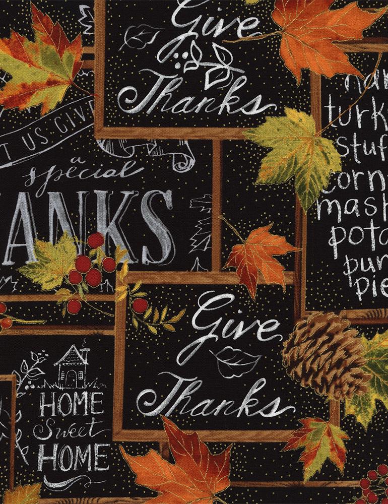 Give Thanks Chalkboard