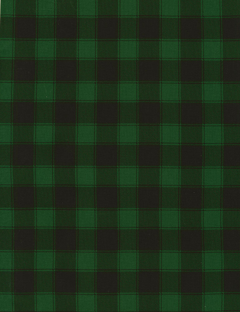 Buffalo Check Holiday-C5784-Green