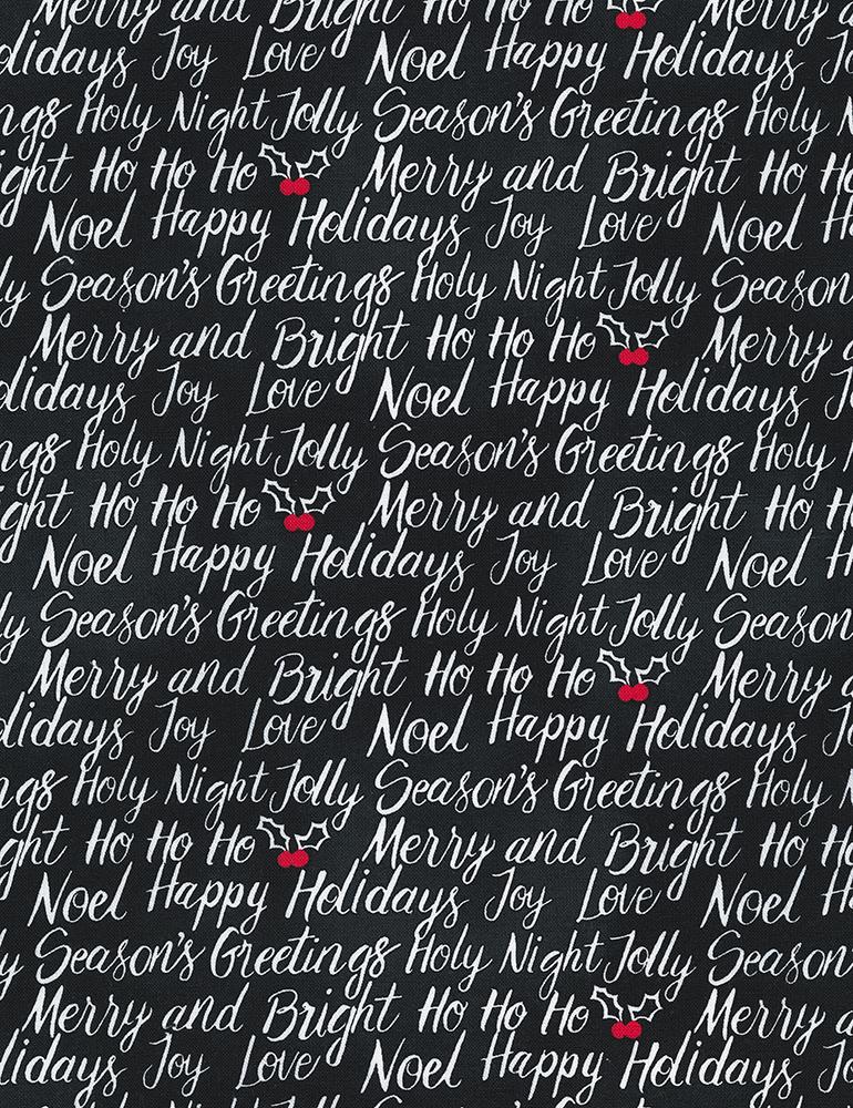 Happy Holiday-C6954-Black